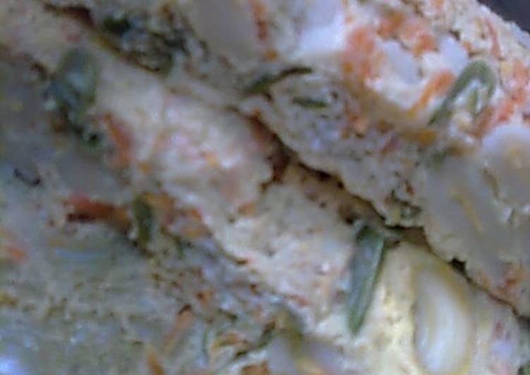 Resep makaroni sayur kukus Anti Gagal