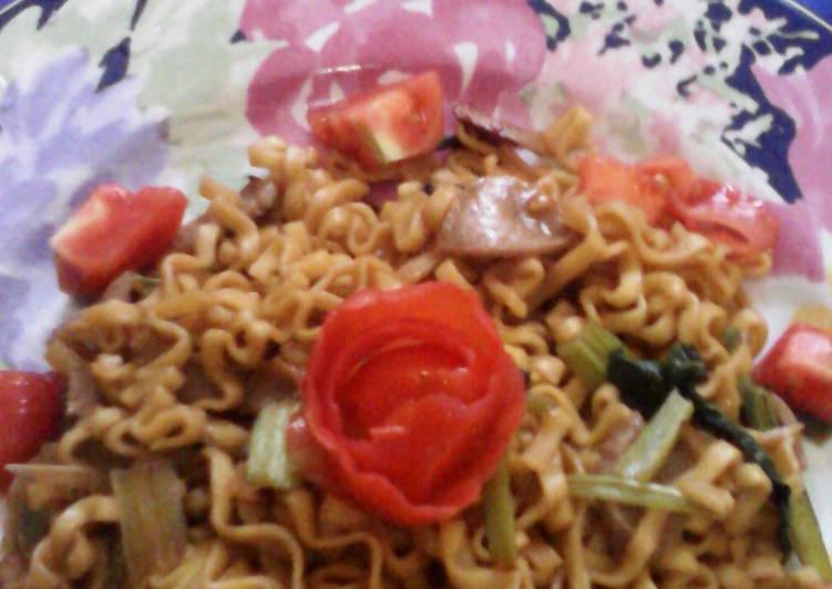 Resep Mie goreng mudah, murah tapi enak Terbaik