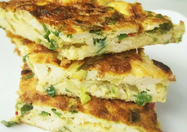Resep Telur Dadar Tahu Sutra oleh Nila Alfani - Cookpad
