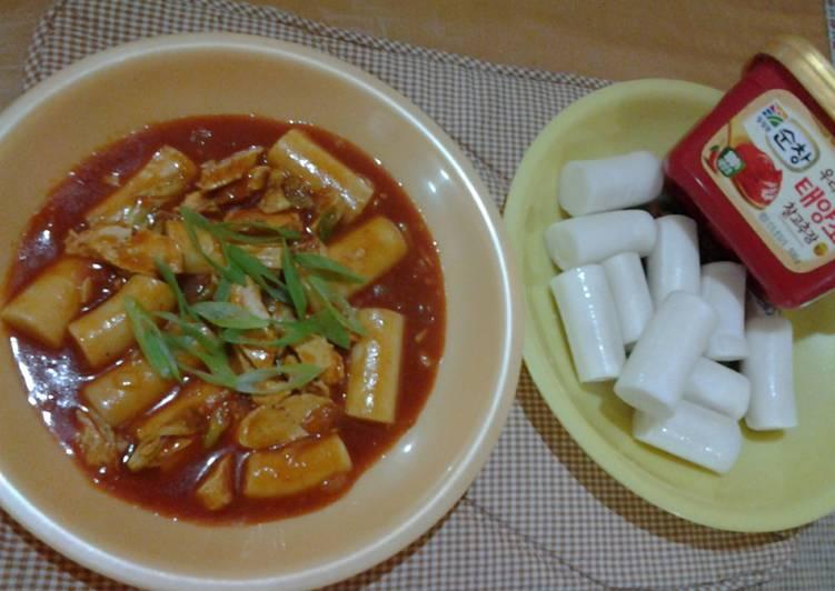 Resep Tteokpokki Kue Beras Pedas Ala Korea Oleh Dian