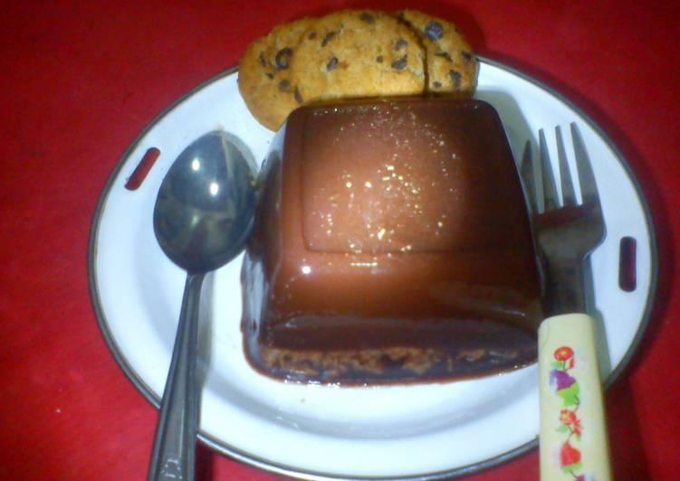 Puding Cokelat Good Time