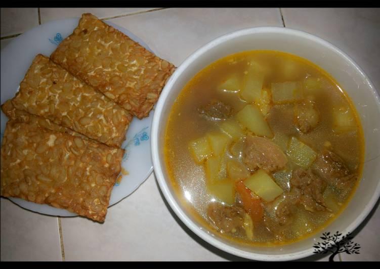 Asam Padeh Lobak Daging