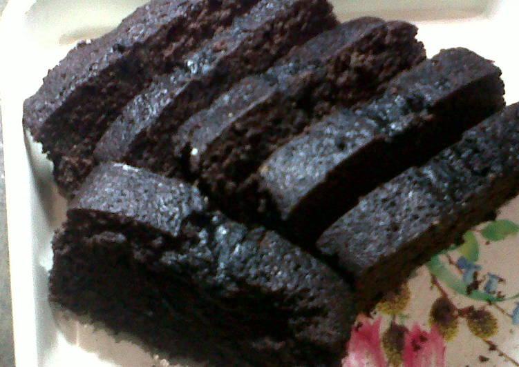 Cara Gampang Membuat Brownies low fat (no telur, no mixer, no oven) yang Sempurna