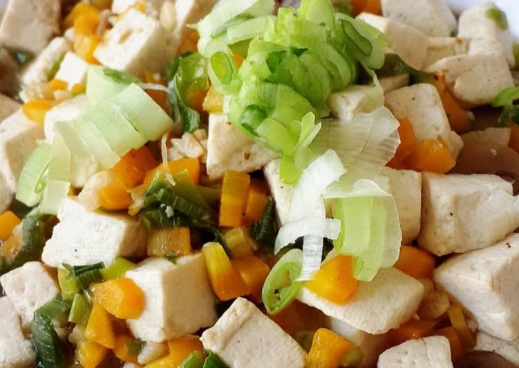 Tumis Tahu Jamur Semi Vegetarian