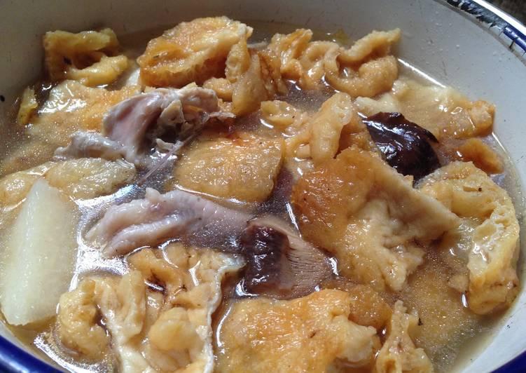 Resep Hu Pio Soup Fish Belly Soup Masakan Khas Imlek Oleh Ekitchen Cookpad