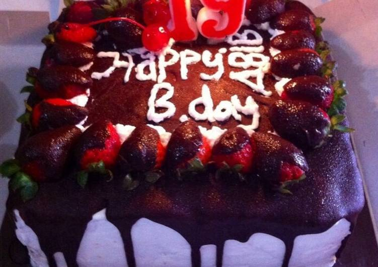 Resep Tiramisu Birthday Cake Special Oleh Ulva Ismawati Cookpad