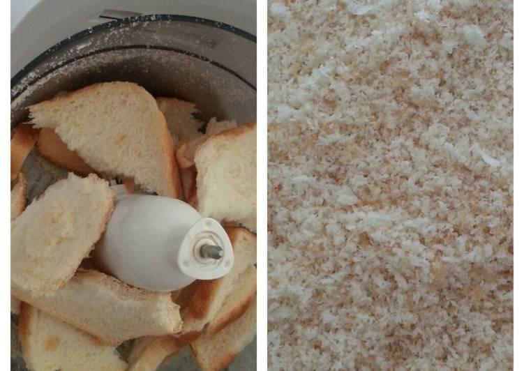 Resep Simple Bread Crumbs Oleh Salsabeel Sabeela Cookpad