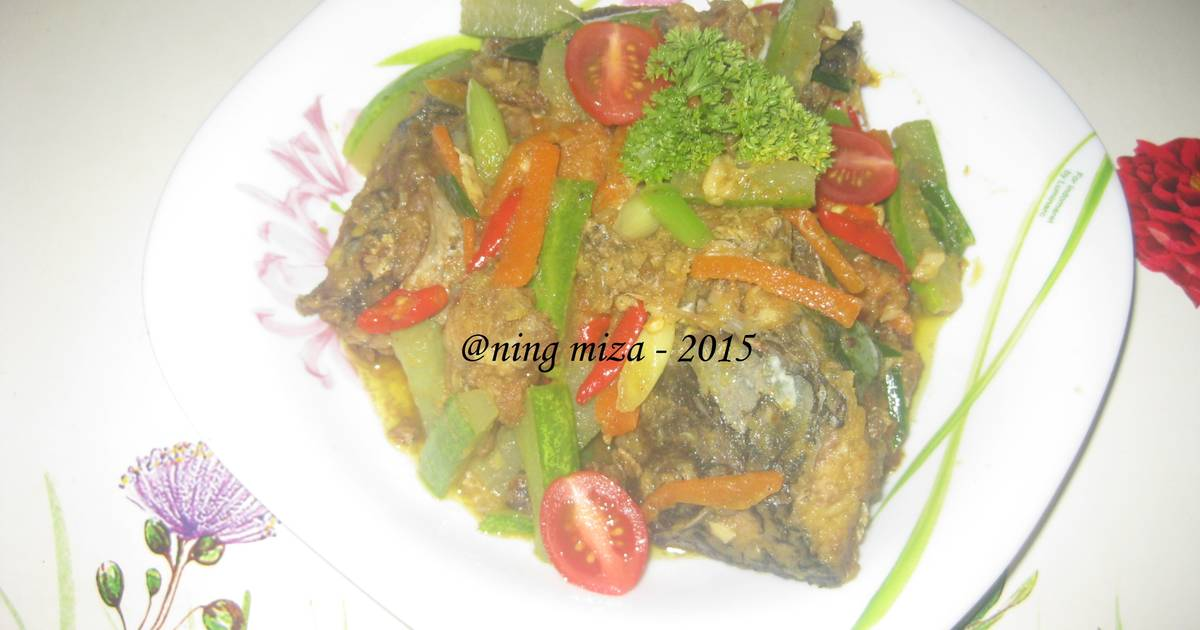 Ikan Nila Acar Kuning