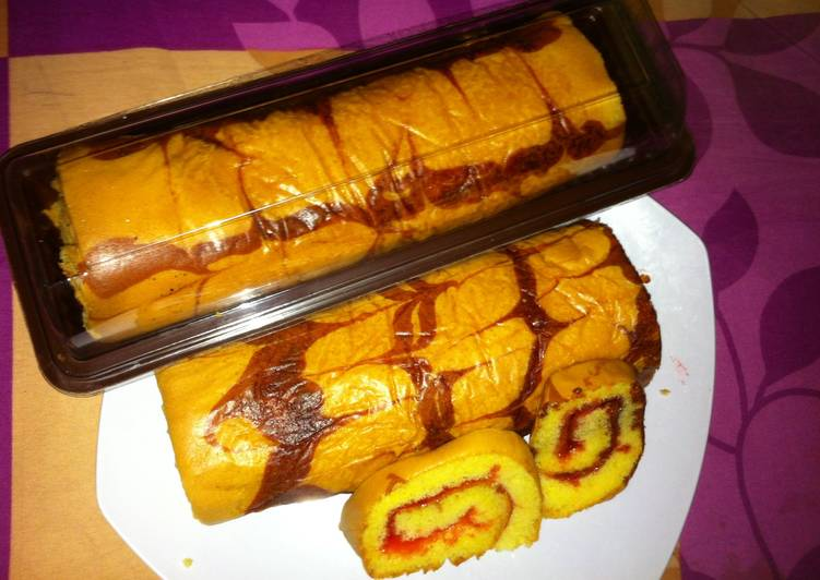Resep Bolu Gulung Batik Oven Oleh Ulva Ismawati Cookpad