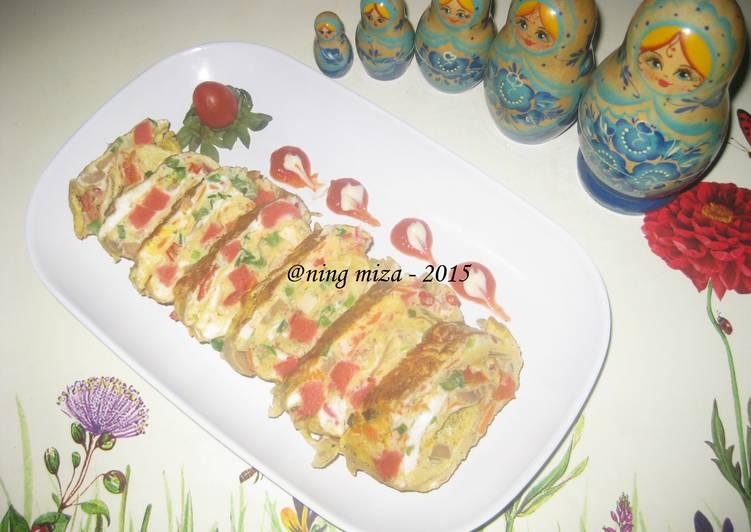 Resep Tamagoyaki (Telur Dadar Gulung) Ala Aku Paling Joss