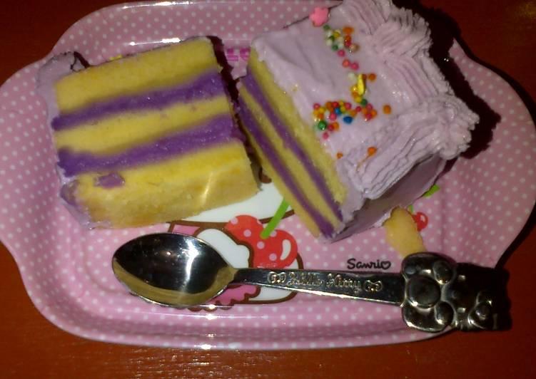 Resep kue tart talas simple Bikin Laper