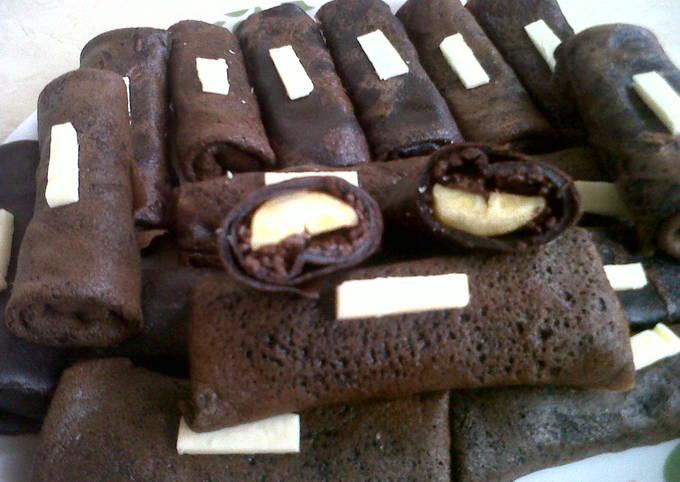 Begini Cara Memasak Dadar Gulung Coklat PisCok Anti Gagal