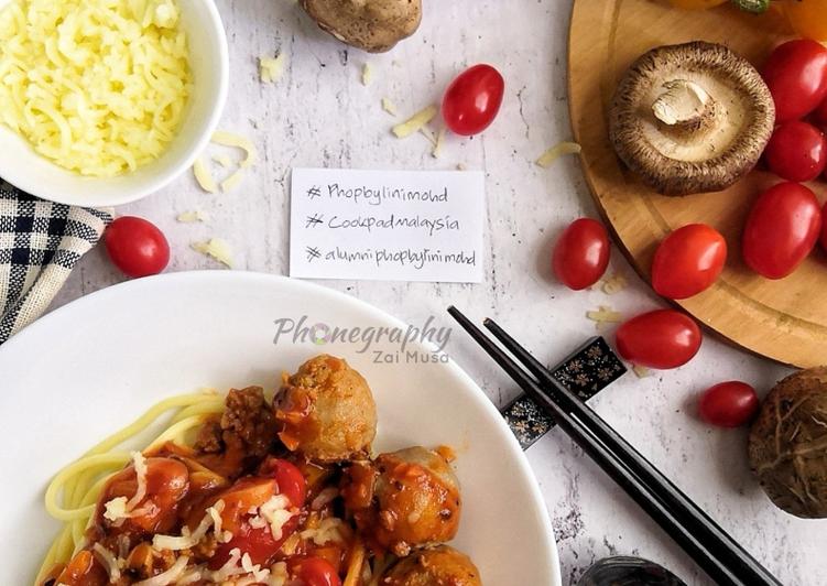 Spaghetti Bolognese Meletop#phopbylinimohd