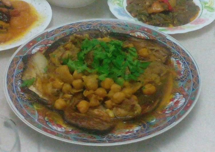 Recipe of Speedy Tajine à l' aubergine