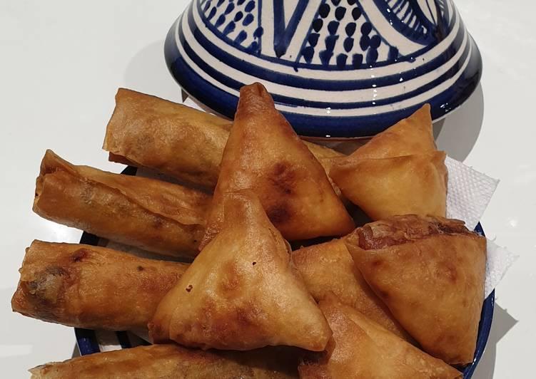 Comment Préparer Les Briwates marocaines