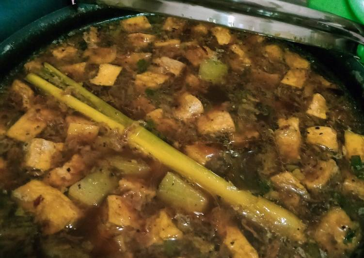 Rawon Manisa-Tahu (non Daging)