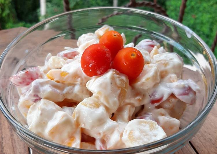 Greek Yougurt Potato Salad