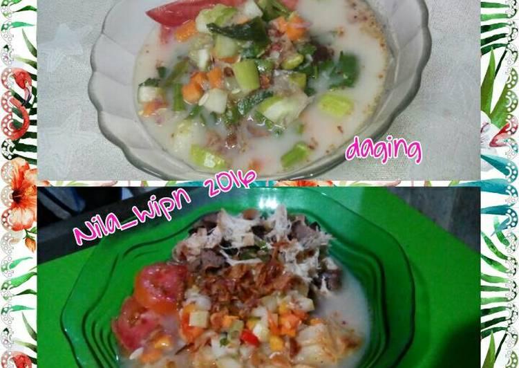 Soto Daging/Ayam ala Betawi