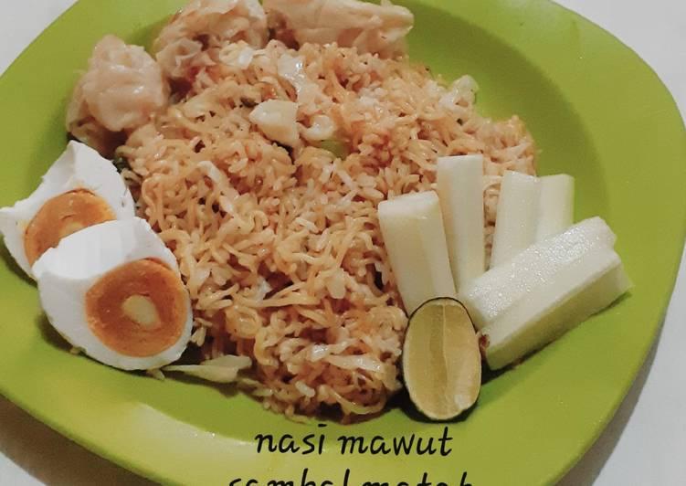 Nasi Mawut Sambal Matah