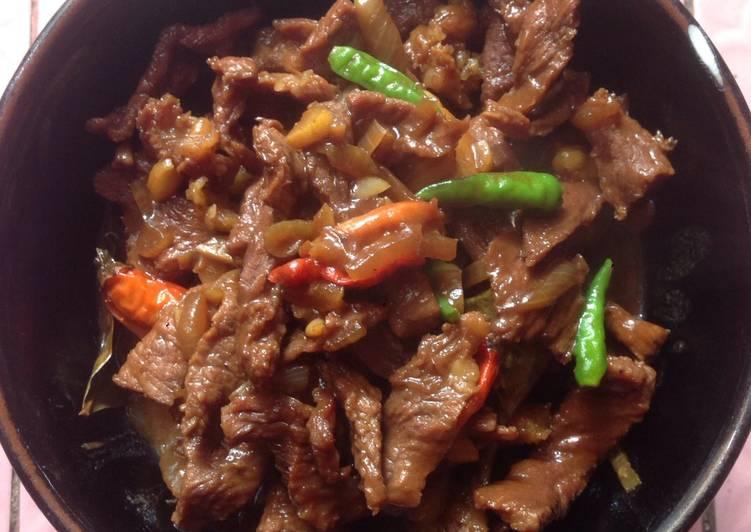 Beef saus tiram