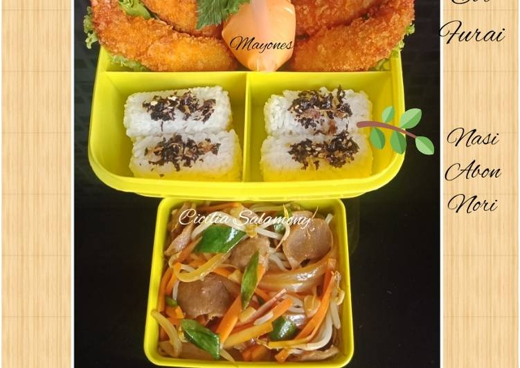 """Vegetables Teppanyaki & Bakso"" Bekal Suami"