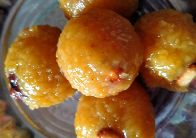 10 Minute How to Prepare Refreshing Boondi Laddu