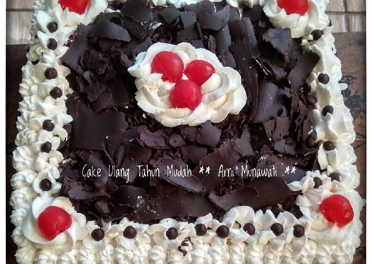 Resep Cake Ulang Tahun Mudah Oleh Arni Munawati Cookpad