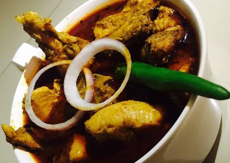 Gavathi chicken curry