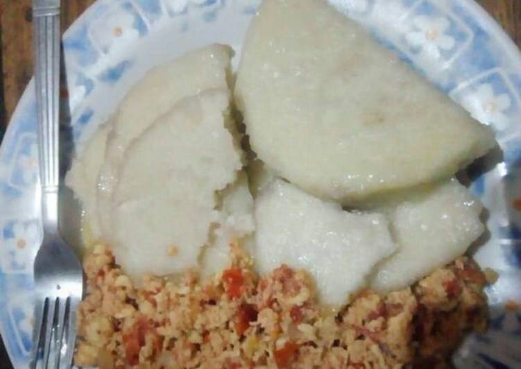 25 Minute Easiest Way to Prepare Love Boiled yam with egg sauce