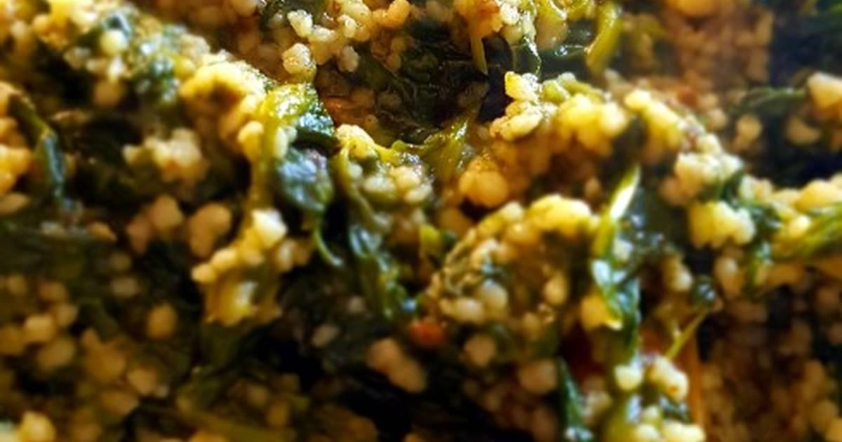 Cous Cous con espinacas Receta de David L. Valdehíta- Cookpad