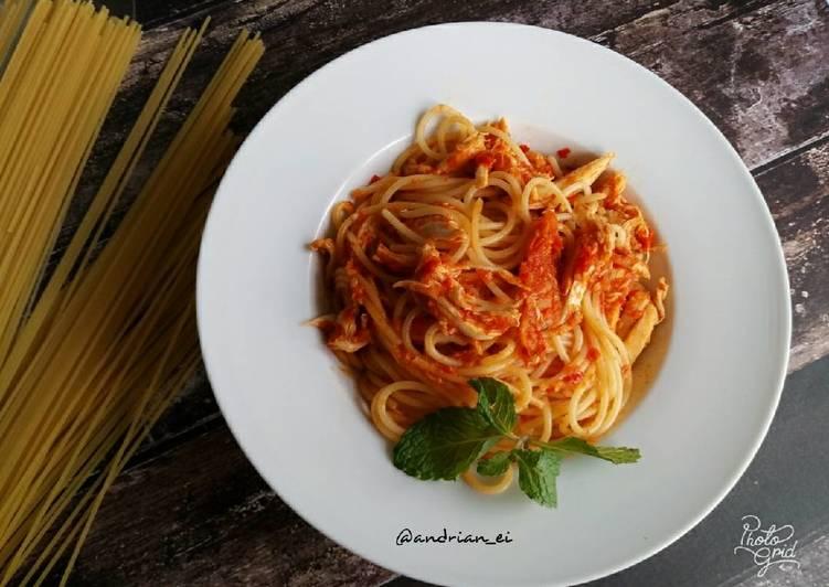 Spagetti Ayam Balado
