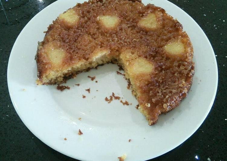 Simple Way to Prepare Speedy Pineapple Turnover Cake