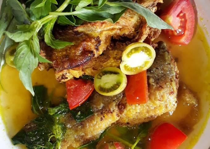 Gulai Rempah Ikan baung