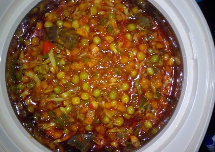 Easiest Recipe: Tasty Special 3 in 1 veg sauce