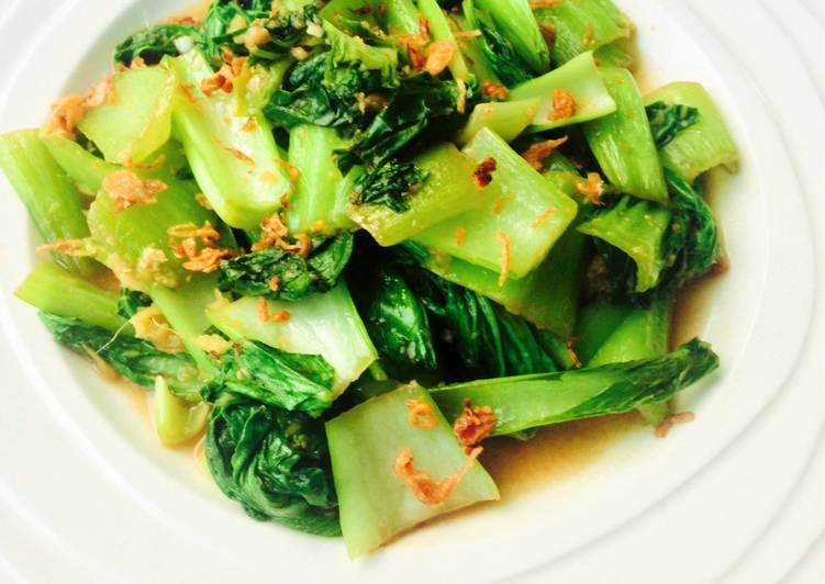 Steps to Prepare Any-night-of-the-week Sautéed Ginger Bok Choy
