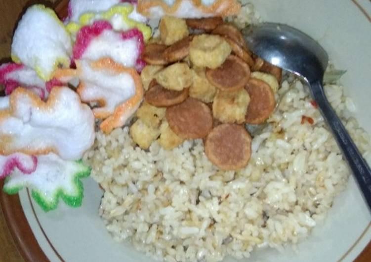 Nasi goreng simple dan mudah