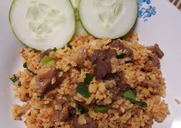 Nasi goreng Daging Sederhana