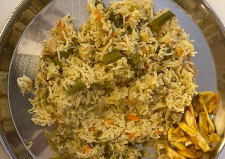 How to Prepare Delicious Mixed vegetable pulav
