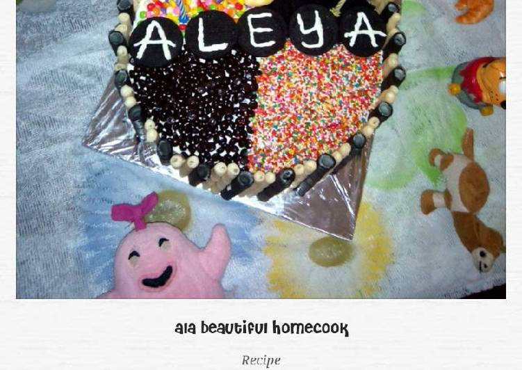 Bagaimana Menyiapkan Chocolate Moist- Birthday Cake My Little Angel yang Sempurna