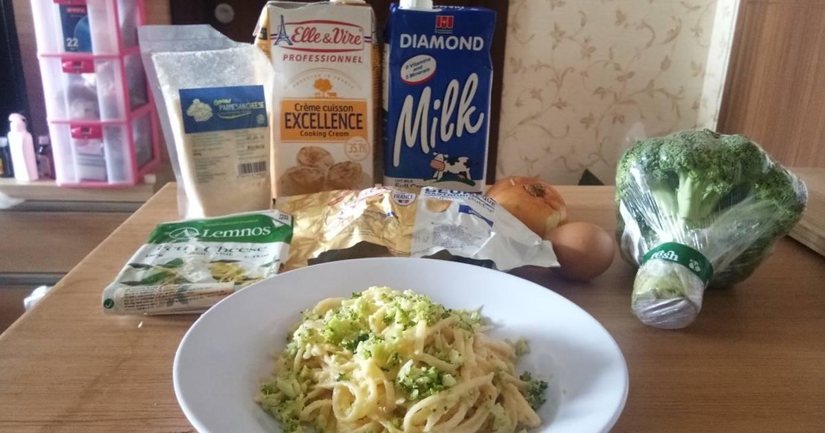Resep Fettuccine Garlic Alfredo Ala Anak Kos Oleh Artha Cookpad