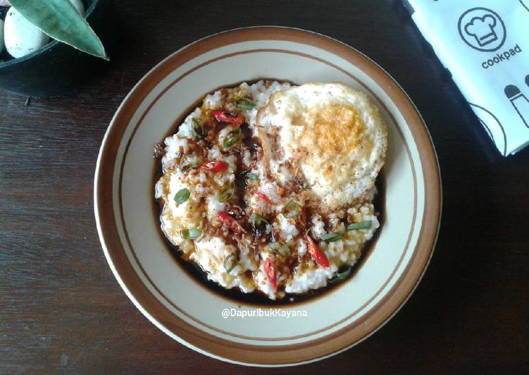 338. Bubur Nasi Leftover Ceria