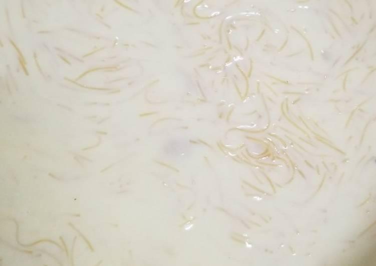 Recipe of Homemade Vermicelli custard pudding