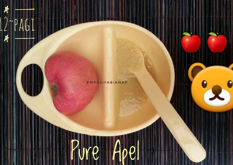 MPASI Pure Apel (menu tunggal hari)