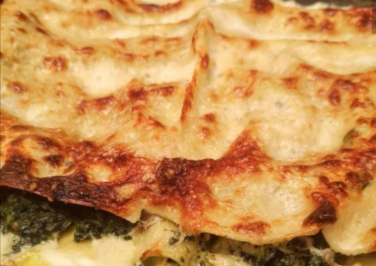 Le moyen le plus simple de Faire Savoureux Lasagnes au saumon et aux épinards