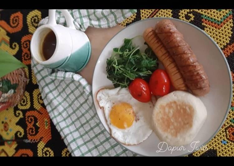 Resep English Muffin Breakfast Terbaik