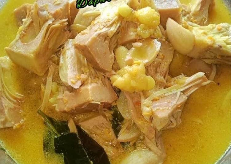 Resep 🌸Lodeh tewel (sayur santan nangka)🌸 yang Bisa Manjain Lidah