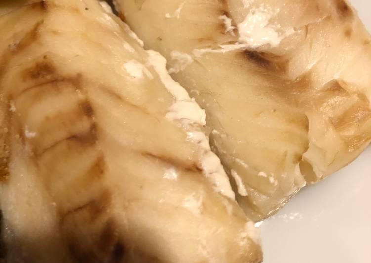 Recipe of Quick Wine Basted Cod Loin