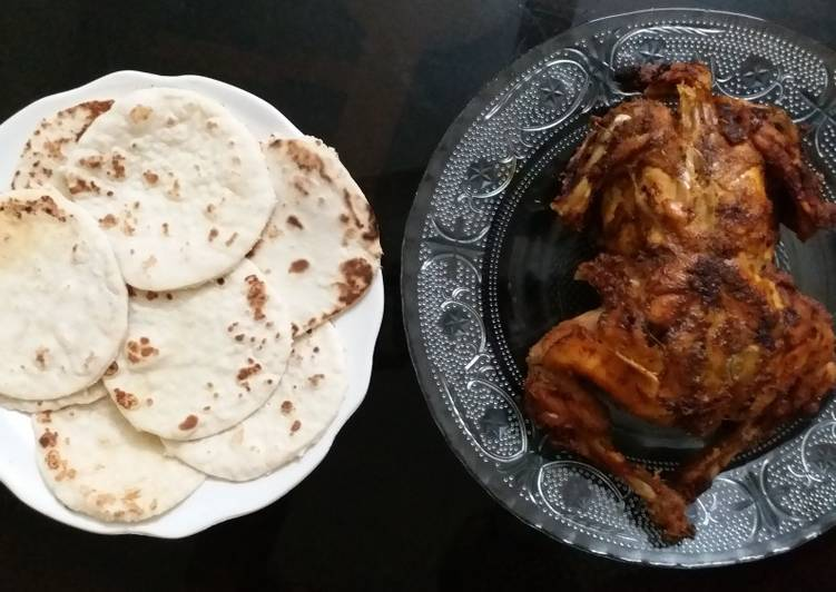 How to Make Speedy Grilled chicken with pita bread