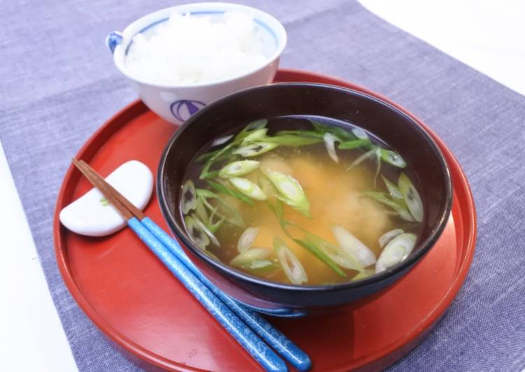 Easiest Way to Prepare Super Quick Homemade Miso Soup