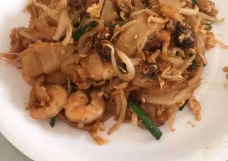 Resepi:  Char Kuey Teow  Dirumah